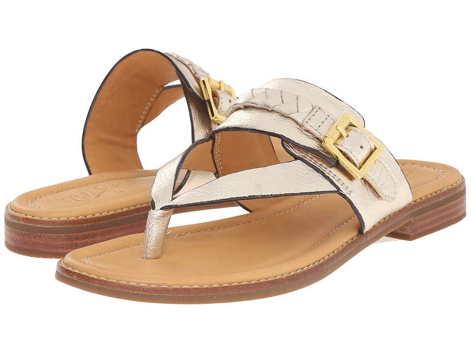 Sperry - Gold Cup Brynn (Platinum) Women's Toe Open Shoes