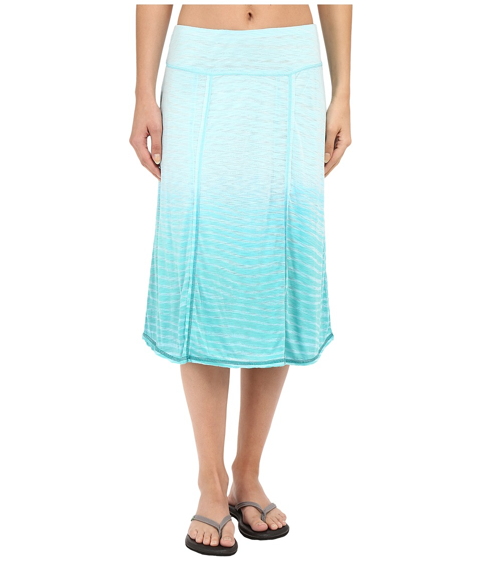 Aventura Clothing Larson Reversible Skirt (Blue Turquoise) Women