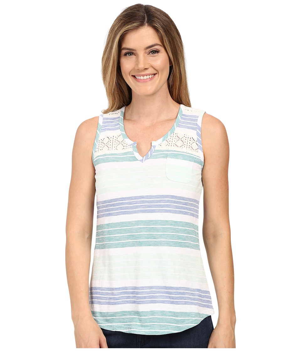 Aventura Clothing - Atherton Tank Top (Blue Turquoise) Women's Sleeveless
