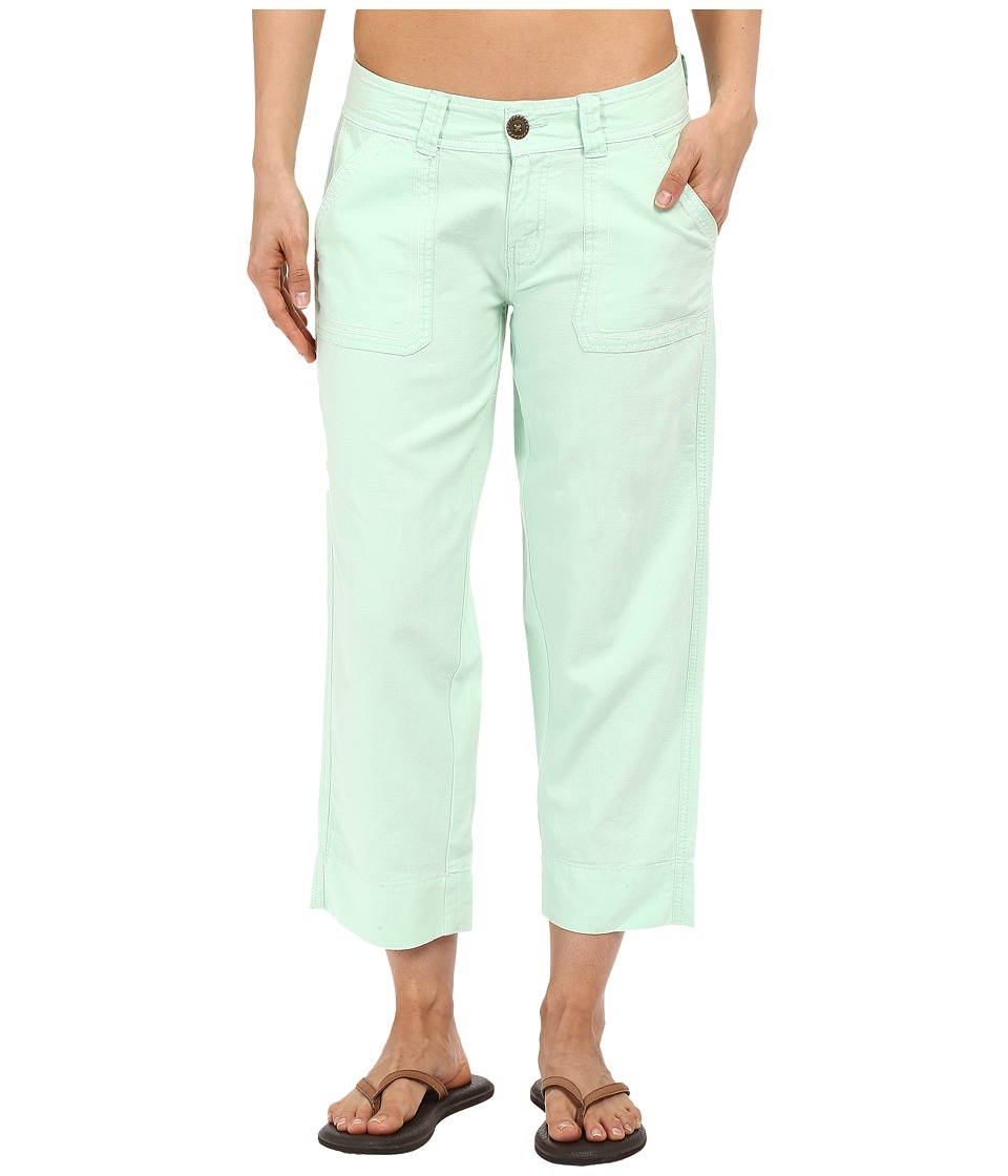 Aventura Clothing - Harlow Capris (Bird's Egg Green) Women's Capri