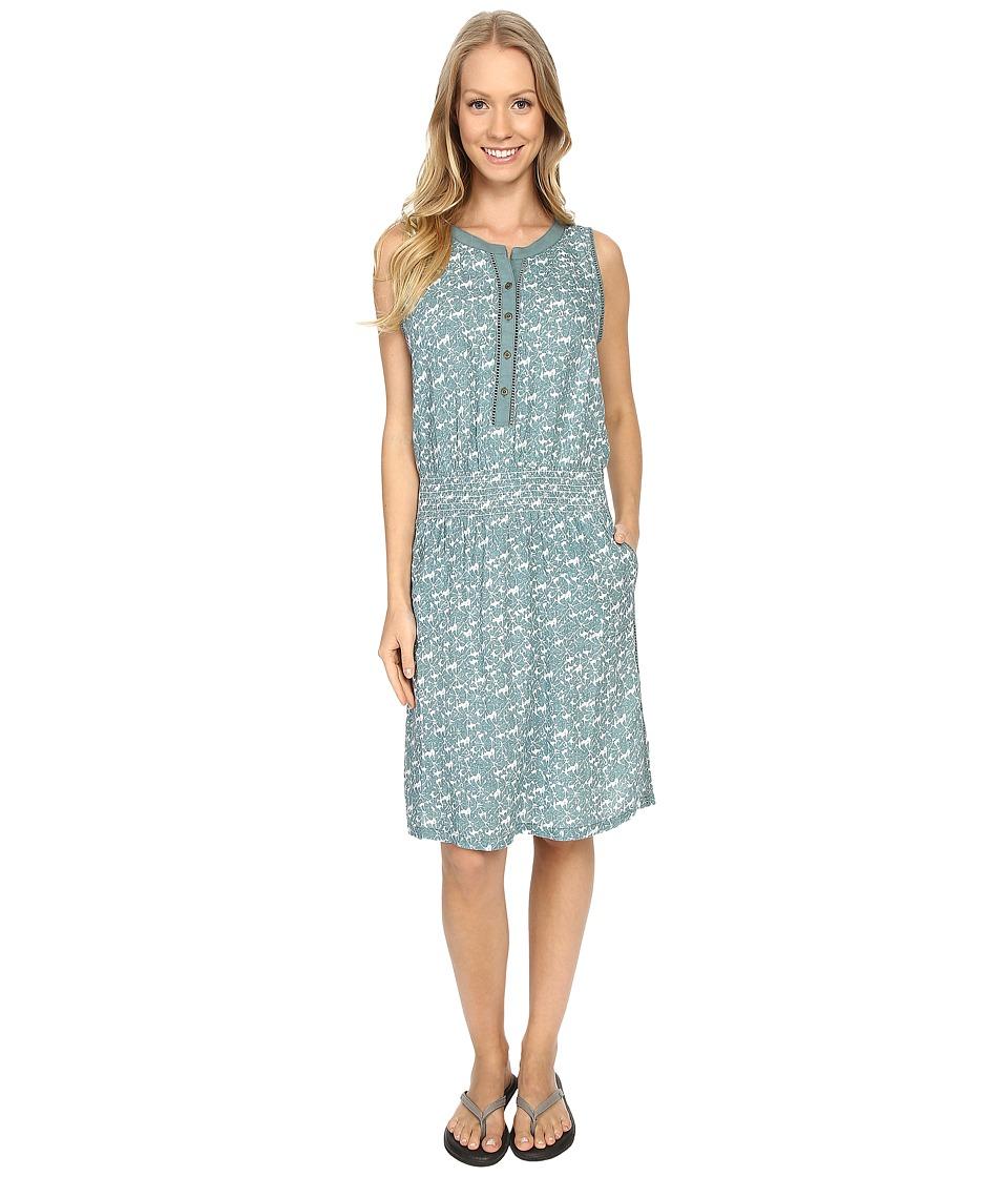 Aventura Clothing Lyric Dress (Turquoise) Women