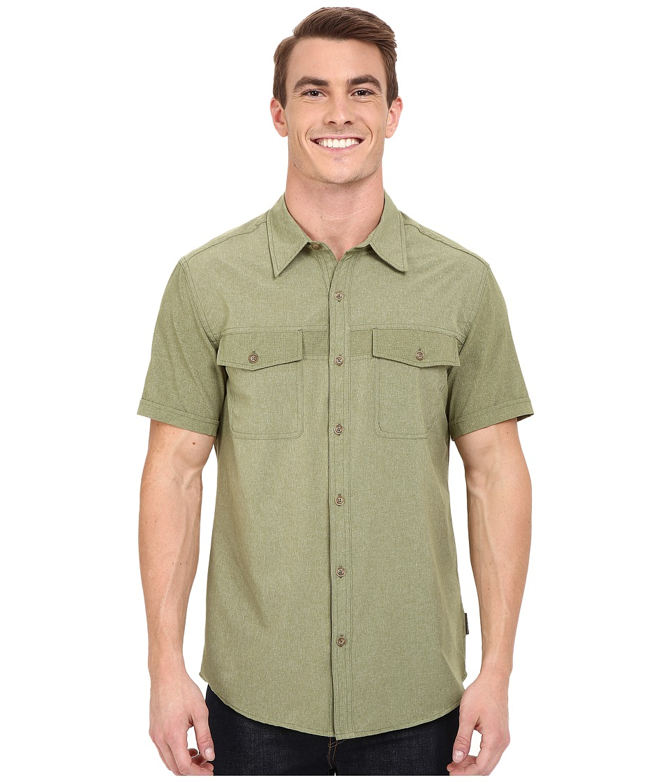 Royal Robbins - Diablo Short Sleeve Shirt (Aloe) Men's Short Sleeve Button Up