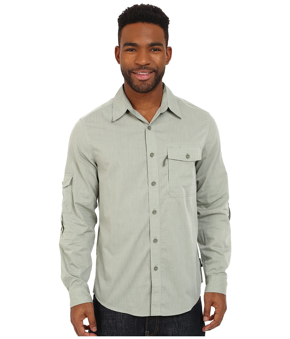 Royal Robbins - Vista Long Sleeve Shirt (Julep) Men's Long Sleeve Button Up