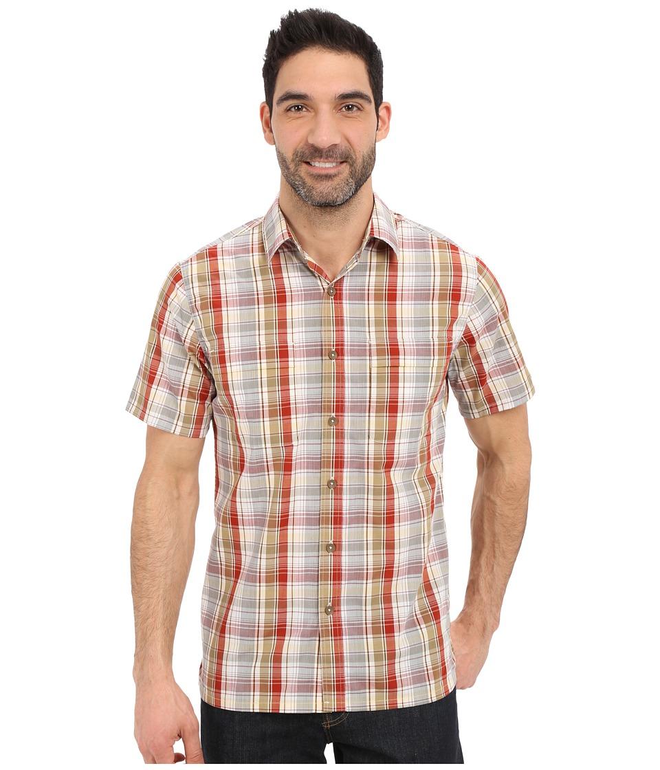 Royal Robbins - Playa Plaid Short Sleeve Shirt (Morocco) Men's Short Sleeve Button Up