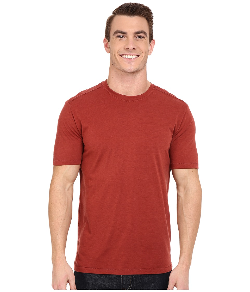 Royal Robbins - Go Everywhere Tee (Dark Paprika) Men
