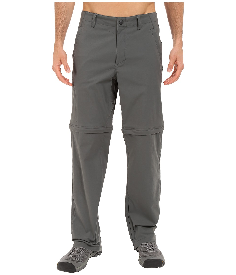 Royal Robbins Traveler Stretch Convertible Pants (Charcoal) Men