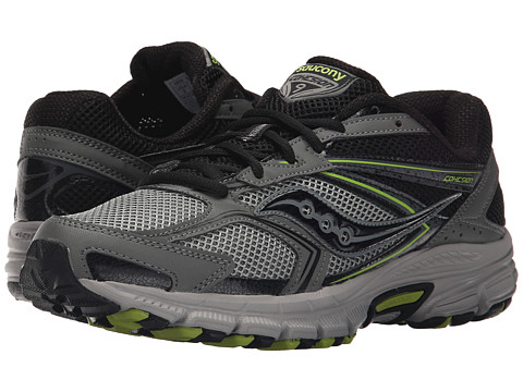 Saucony - Cohesion TR9 (Grey/Black/Yellow) Men's Running Shoes