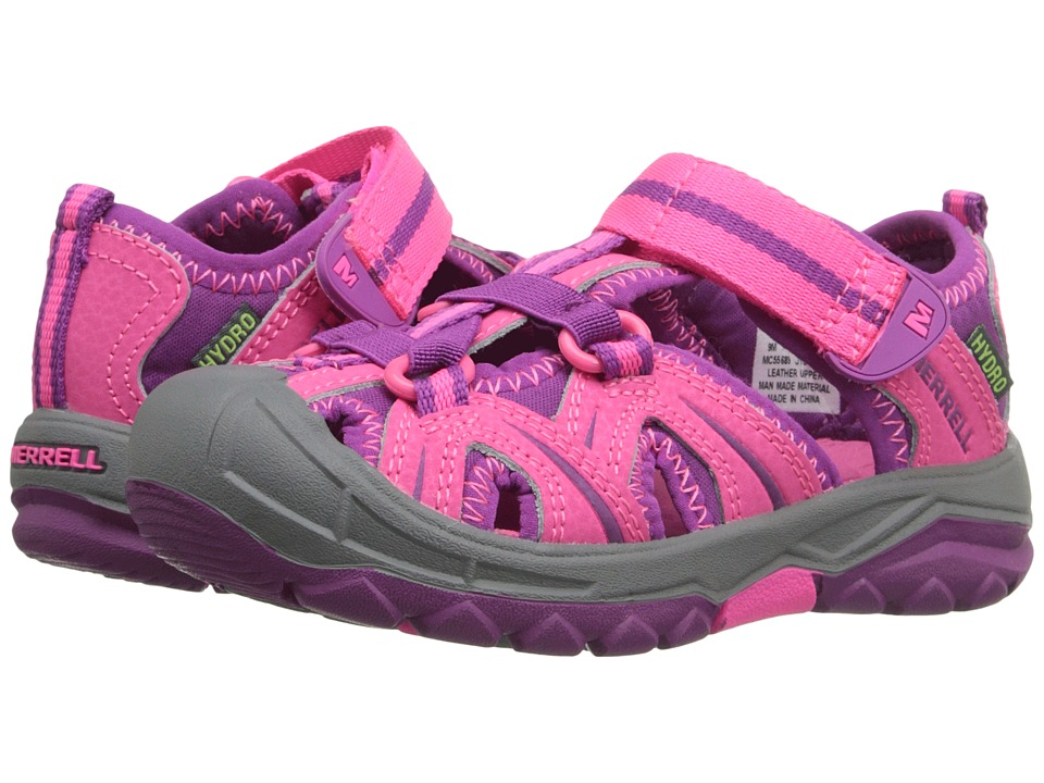 Merrell Kids Hydro (Toddler/Little Kid) (Pink) Girls Shoes
