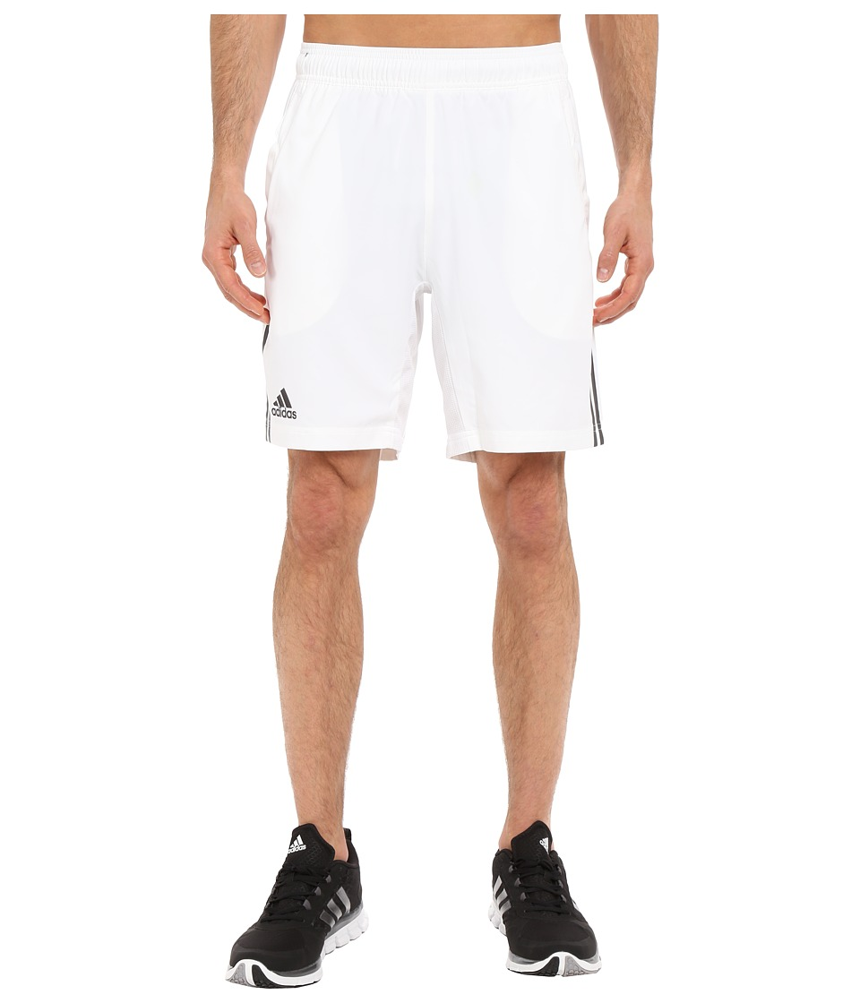 adidas - Club Shorts (White/Black) Men's Shorts