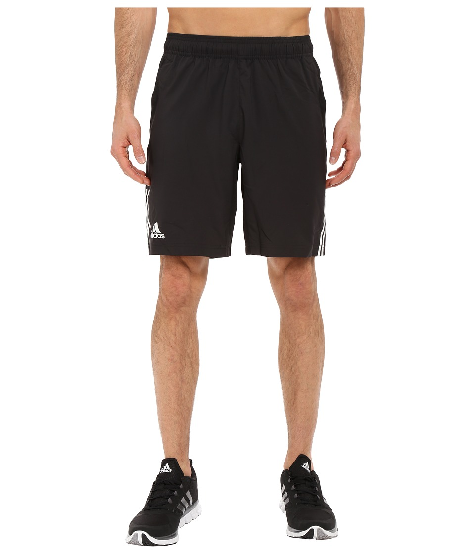 adidas - Club Shorts (Black/White) Men's Shorts