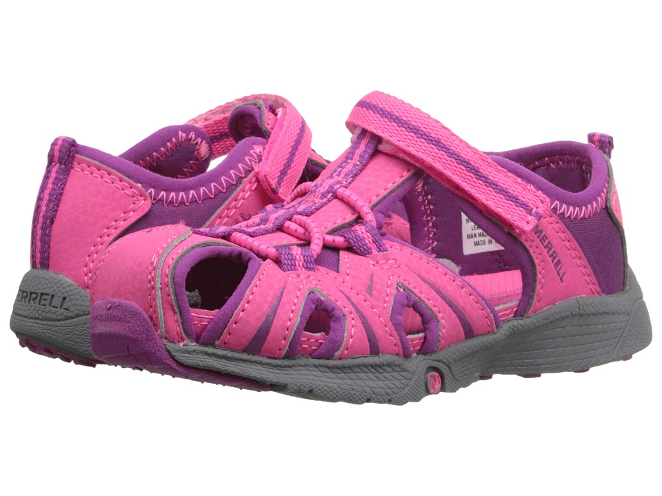Merrell Kids Hydro Junior (Toddler) (Pink) Girls Shoes