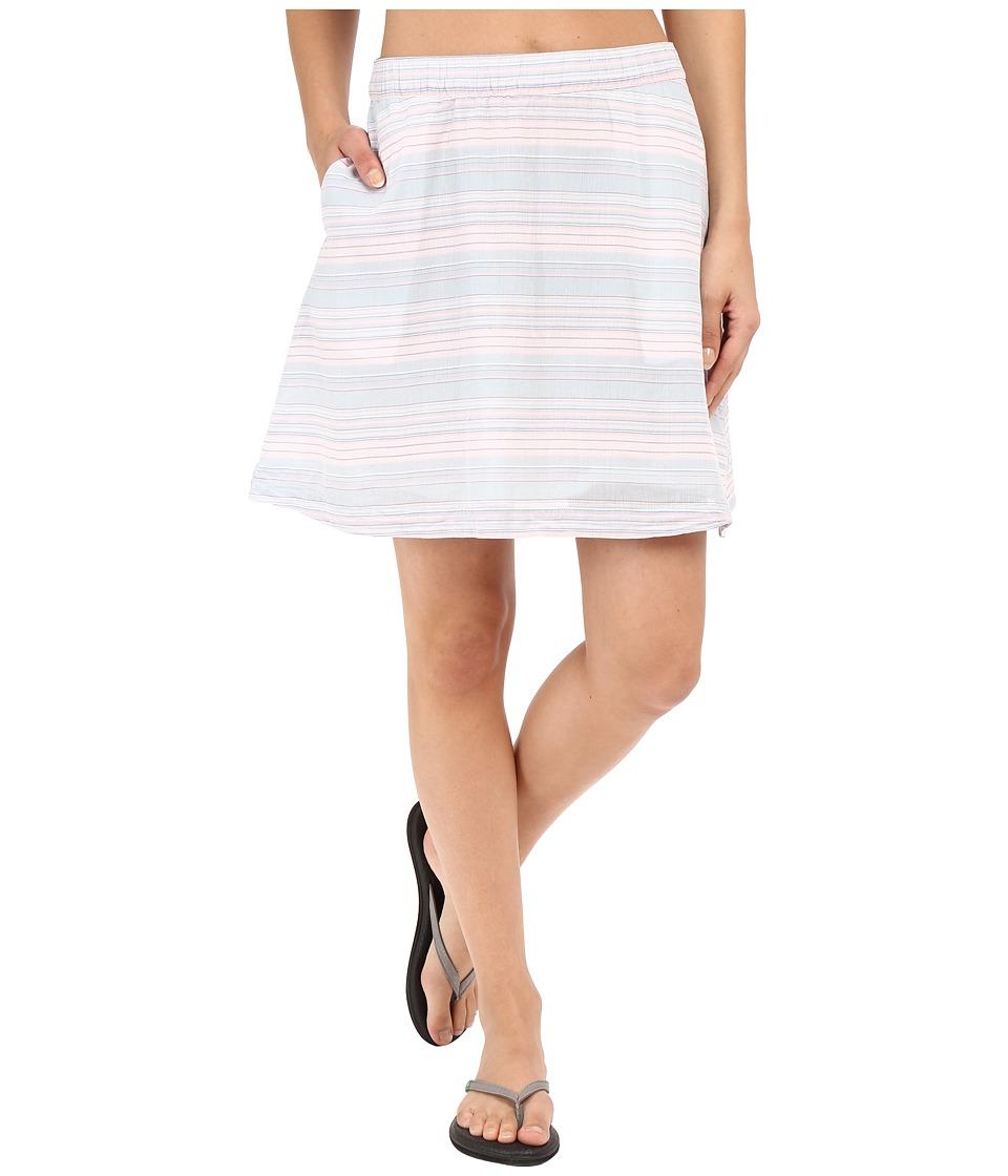 Columbia - Sun Drifter Skirt (Stone Blue Stripe) Women's Skirt