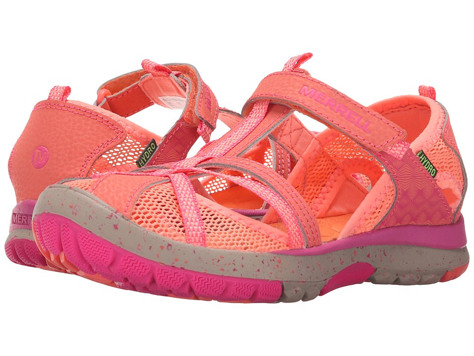 Merrell Kids - Hydro Monarch (Toddler/Little Kid/Big Kid) (Coral) Girls Shoes
