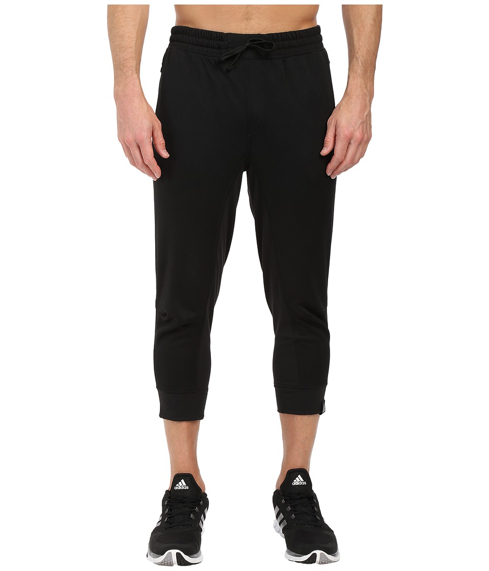 adidas - Standard One 3/4 Pants (Black) Men
