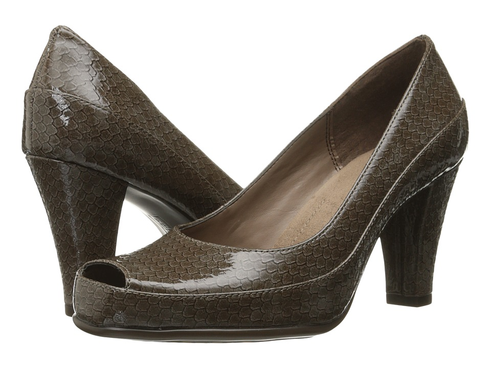 Aerosoles - Big Ben (Taupe Snake) High Heels