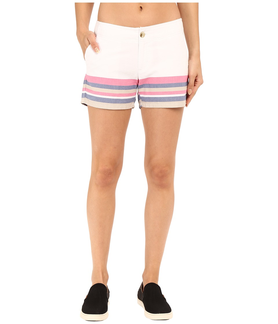 Columbia Solar Fadetm Short (Tropic Pink Stripe) Women