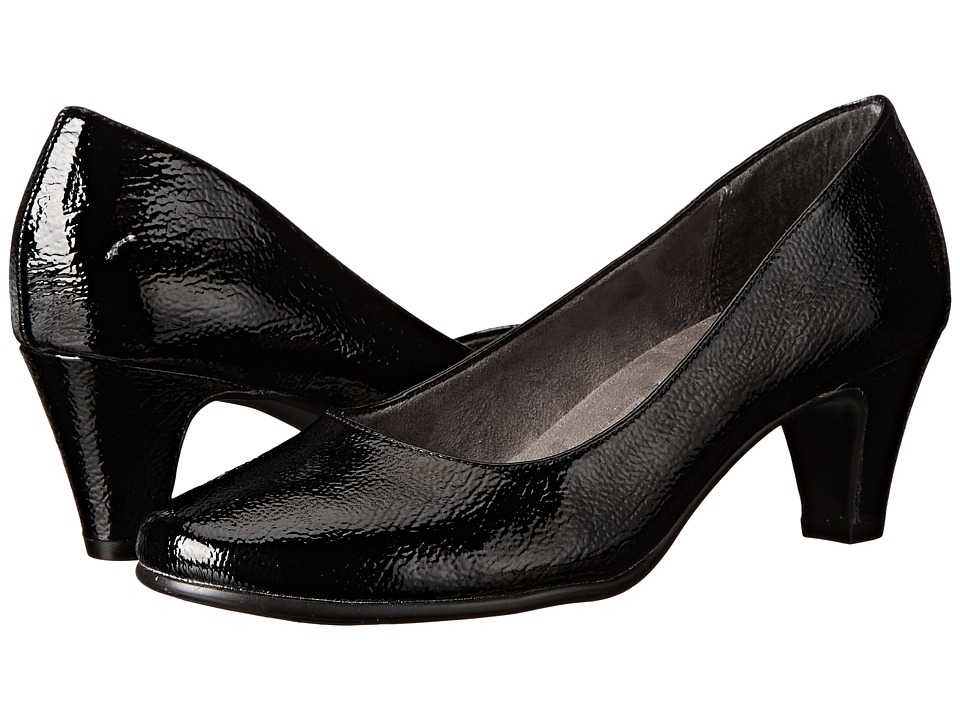 A2 by Aerosoles Redwood (Black Patent) High Heels