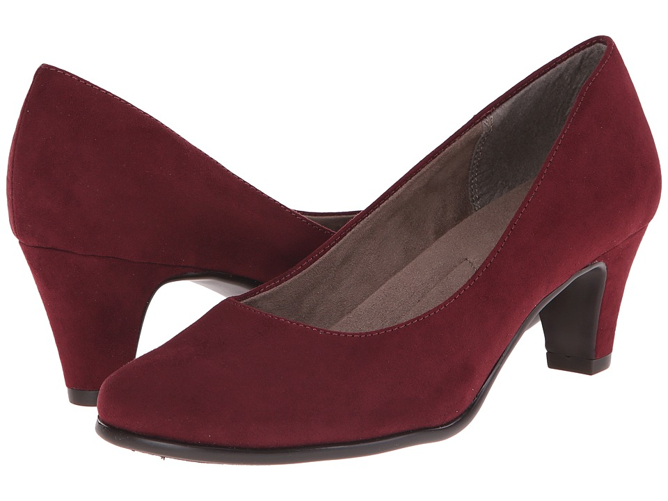 Aerosoles - Redwood (Wine Fabric) High Heels