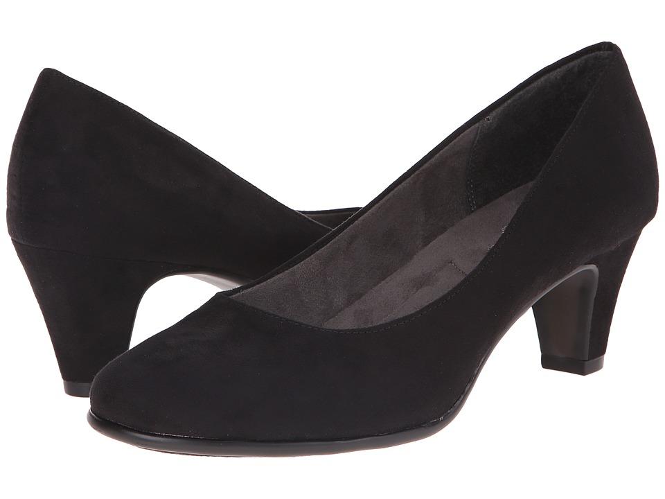 A2 by Aerosoles - Redwood (Black Fabric) High Heels