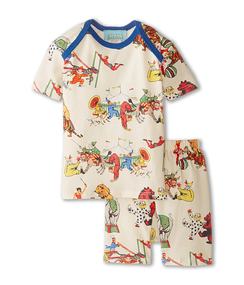 BedHead Kids - Short Sleeve Two-Piece Shorts Set (Infant) (Showtime) Girl's Pajama Sets