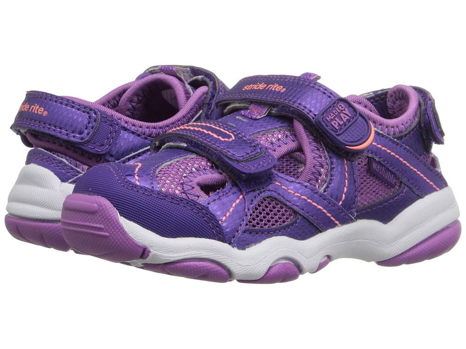 Stride Rite - M2P Sandy (Toddler/Little Kid) (Purple) Girls Shoes