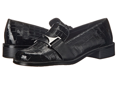 Aerosoles - Sleigh Ride (Black Croco) Women