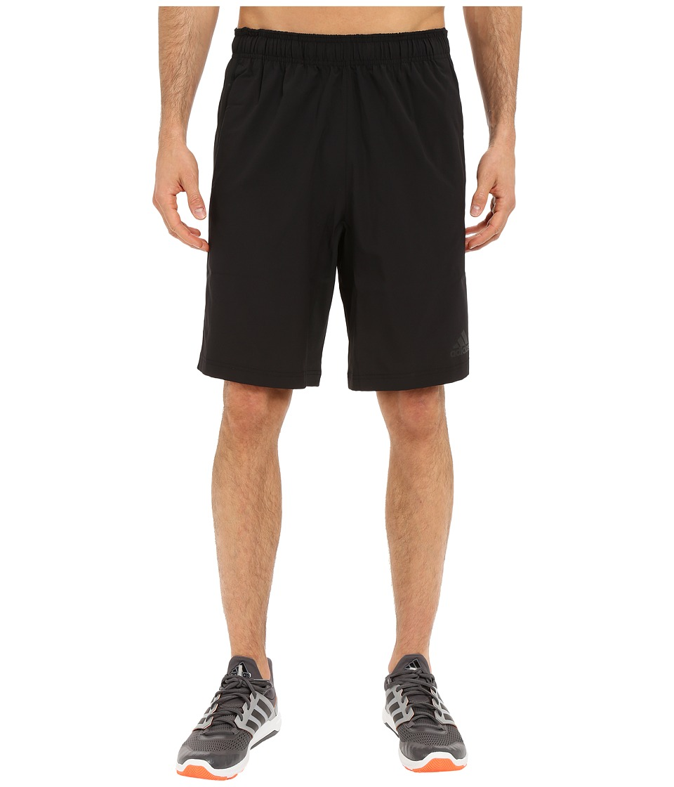 adidas - Team Issue Woven Shorts (Black/Black) Men's Shorts