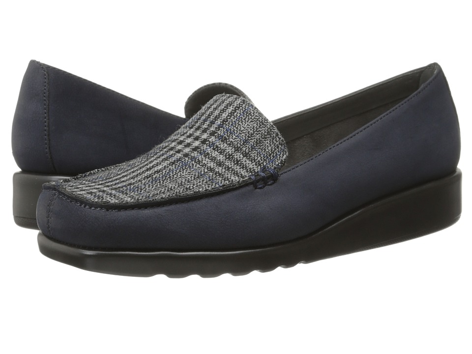 A2 by Aerosoles - Gondola (Navy Fabric) Women's Wedge Shoes