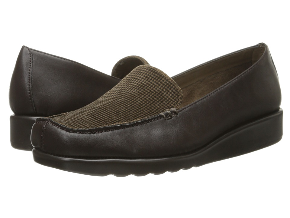 A2 by Aerosoles - Gondola (Dark Brown Combo) Women's Wedge Shoes