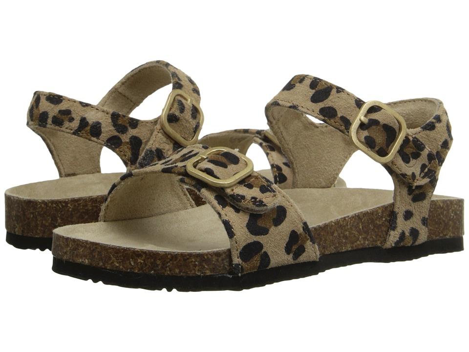 Stride Rite - Zuly (Toddler/Little Kid) (Tan/Animal) Girls Shoes