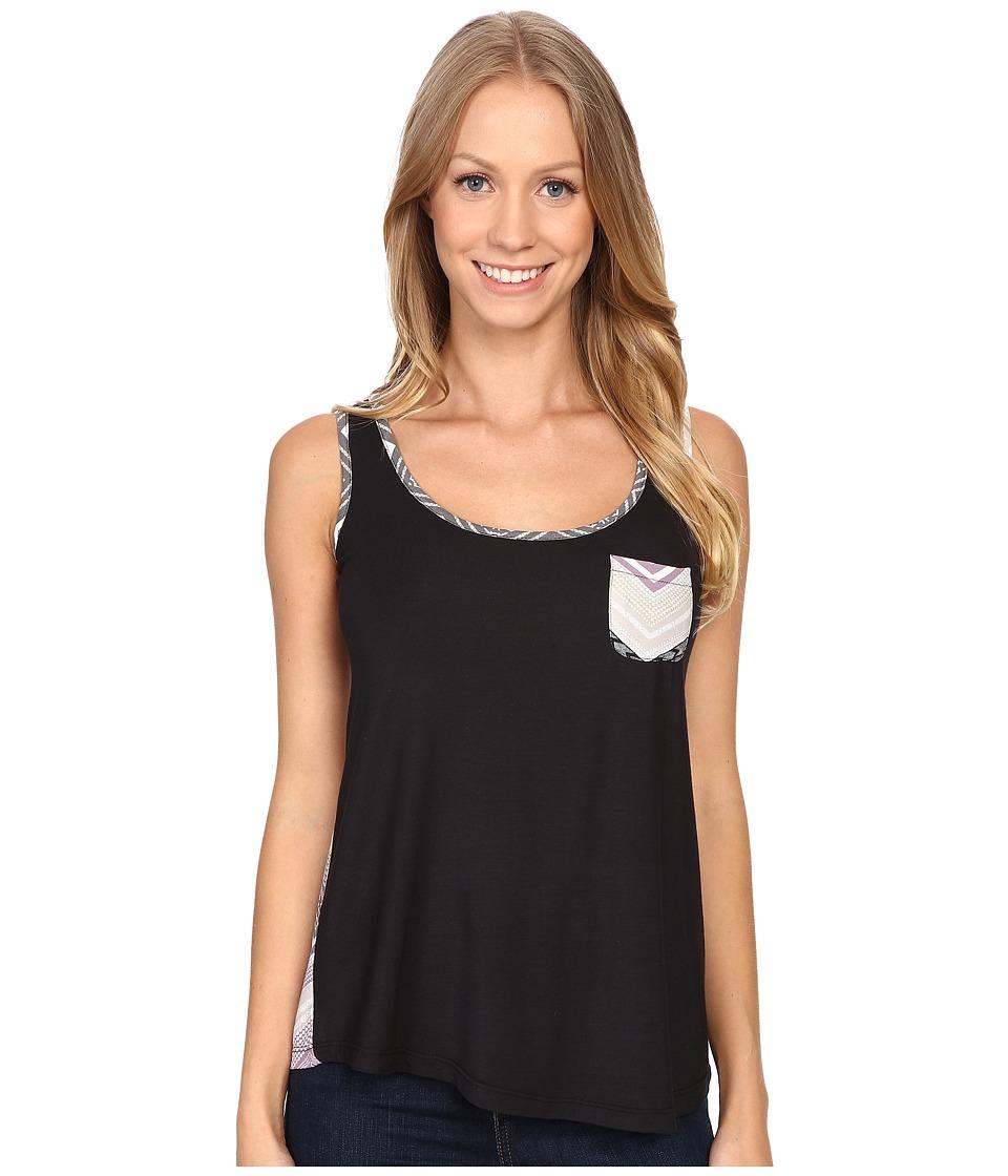 Aventura Clothing - Alexus Tank Top (Black) Women's Sleeveless