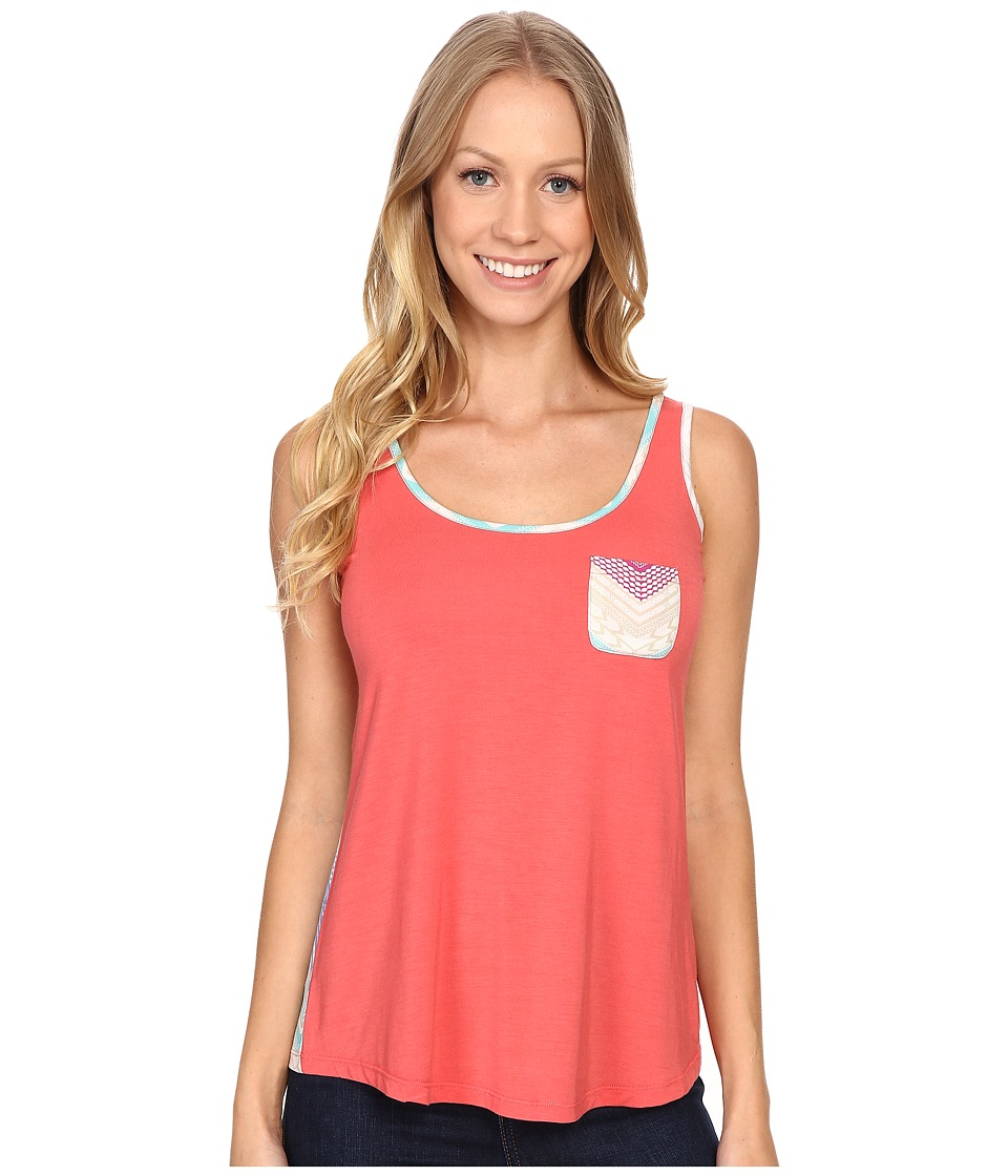 Image of Aventura Clothing - Alexus Tank Top (Spiced Coral) Women's Sleeveless