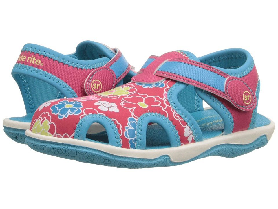 Stride Rite - Nevah (Toddler/Little Kid) (Pink/Floral) Girls Shoes
