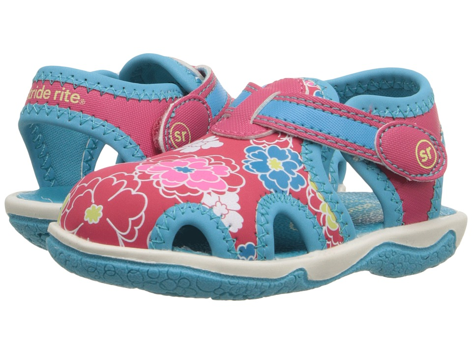 Stride Rite - Nevah (Toddler) (Pink/Floral) Girls Shoes