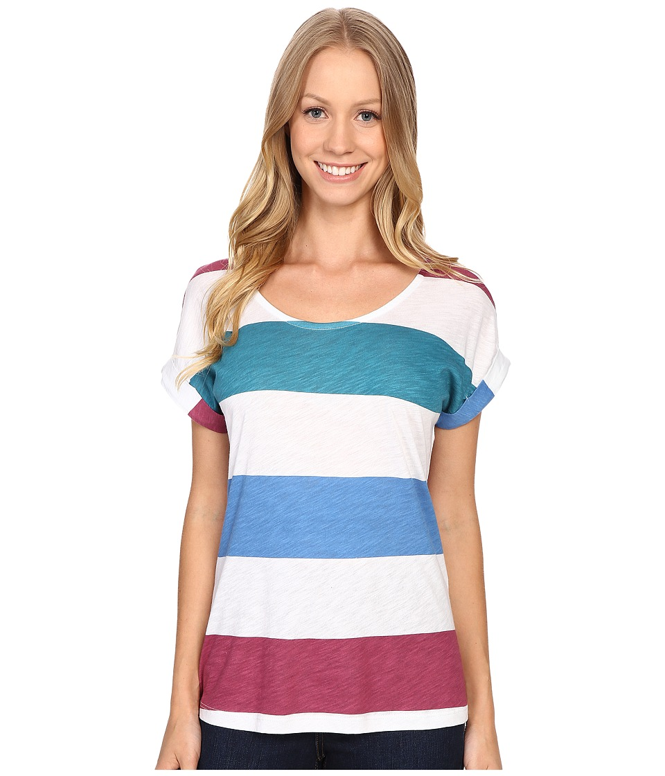 Aventura Clothing - Marlowe Short Sleeve (Blue Yonder) Women's T Shirt