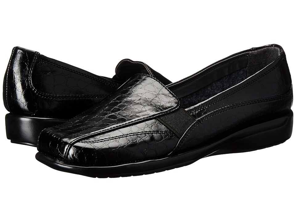 Aerosoles - Tricycle (Black Croco) Women's Shoes