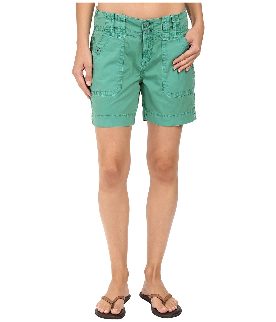 Aventura Clothing - Mayson Shorts (Bottle Green) Women's Shorts