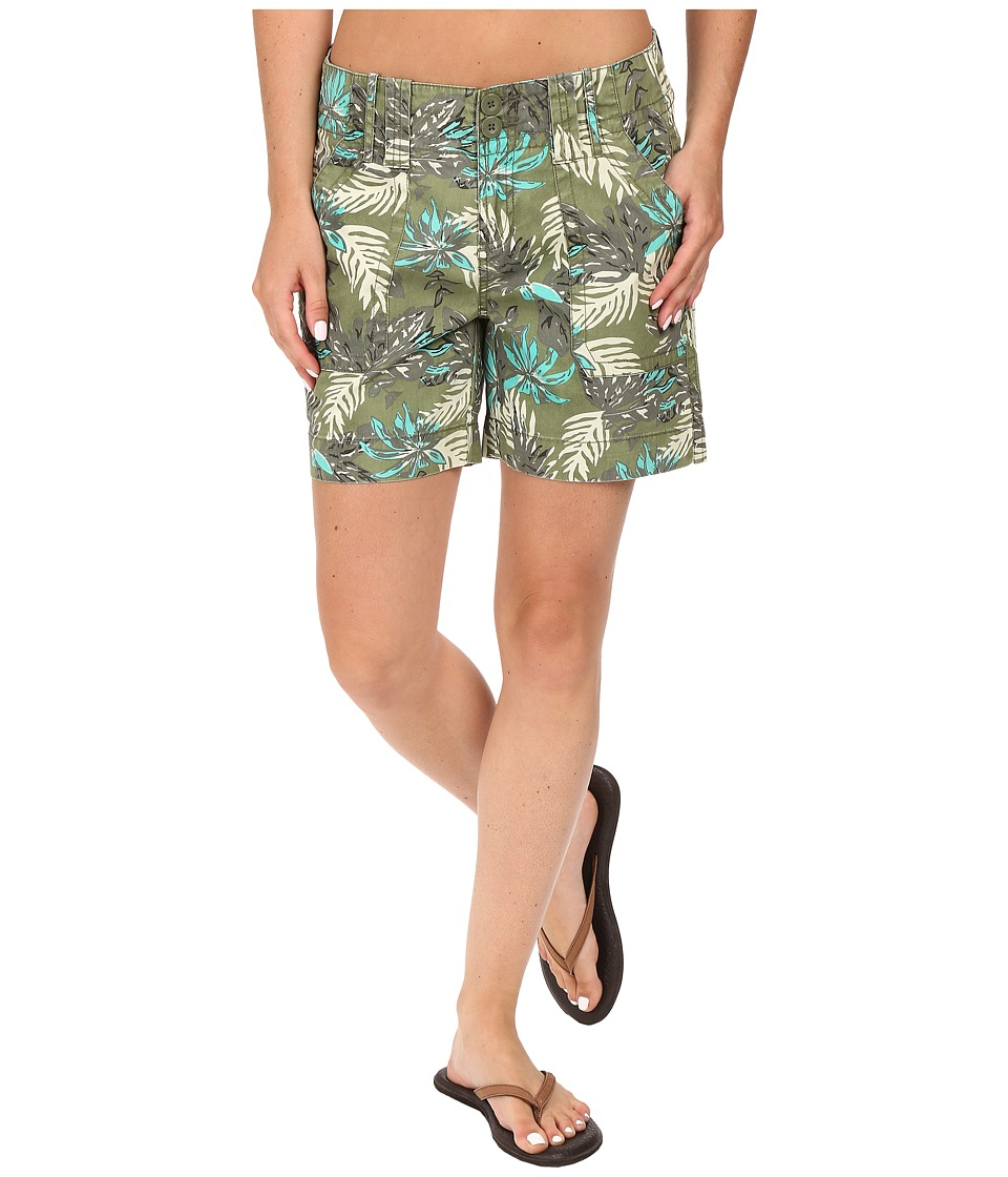 Aventura Clothing - Kailyn Shorts (Blue Turquoise) Women's Shorts