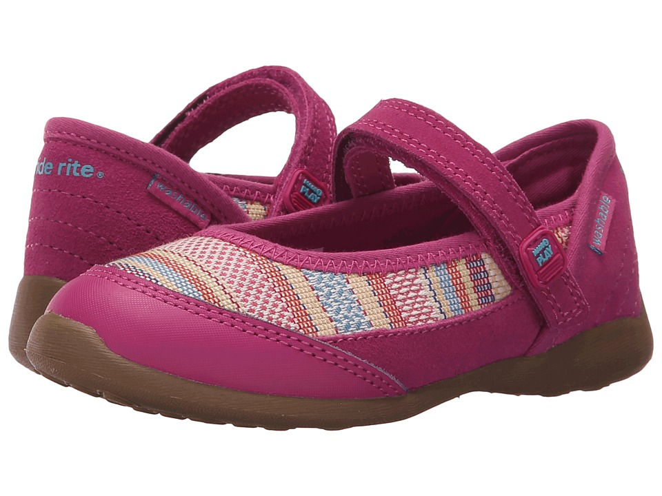 Stride Rite - M2P Terry (Toddler/Little Kid) (Pink) Girl's Shoes
