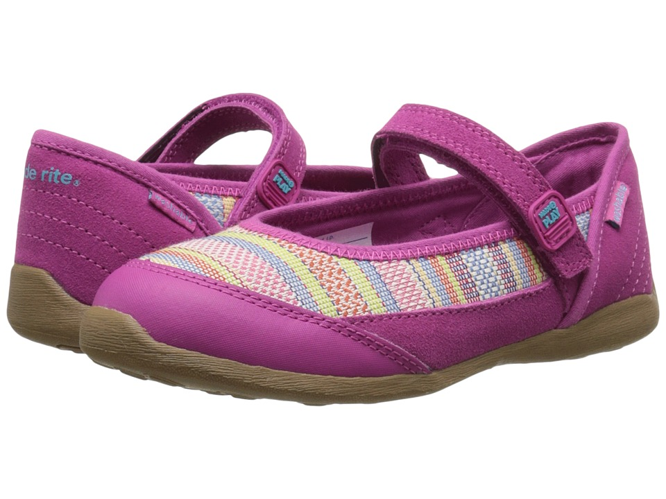 Stride Rite - M2P Terry (Little Kid) (Pink) Girl's Shoes