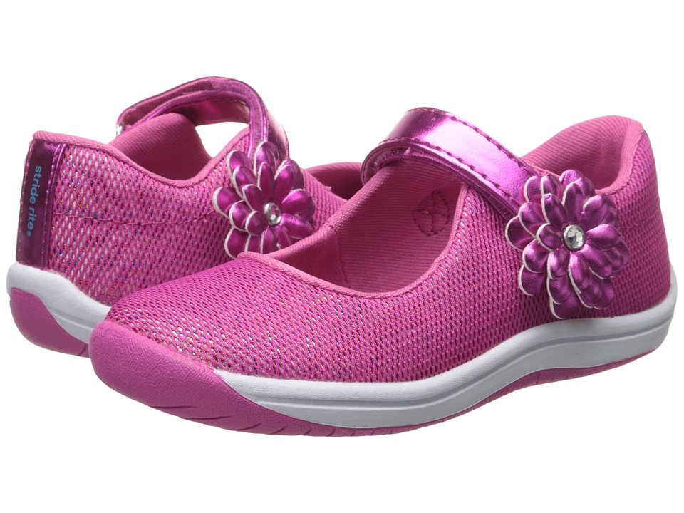 Stride Rite - Haylie (Toddler/Little Kid) (Pink Zebra) Girl's Shoes