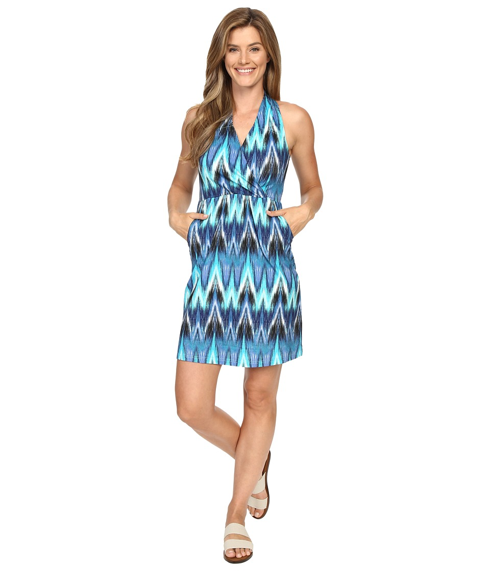 Aventura Clothing - Nevis Dress (Mosaic Blue) Women's Dress