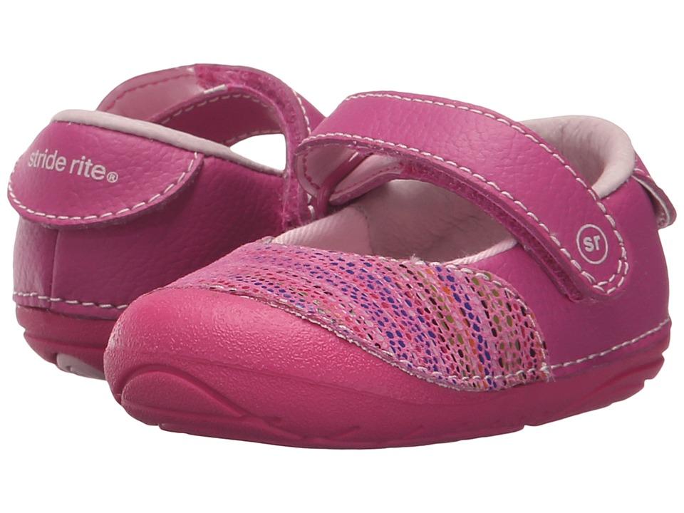 Stride Rite - SM Jordona (Infant/Toddler) (Pink) Girls Shoes