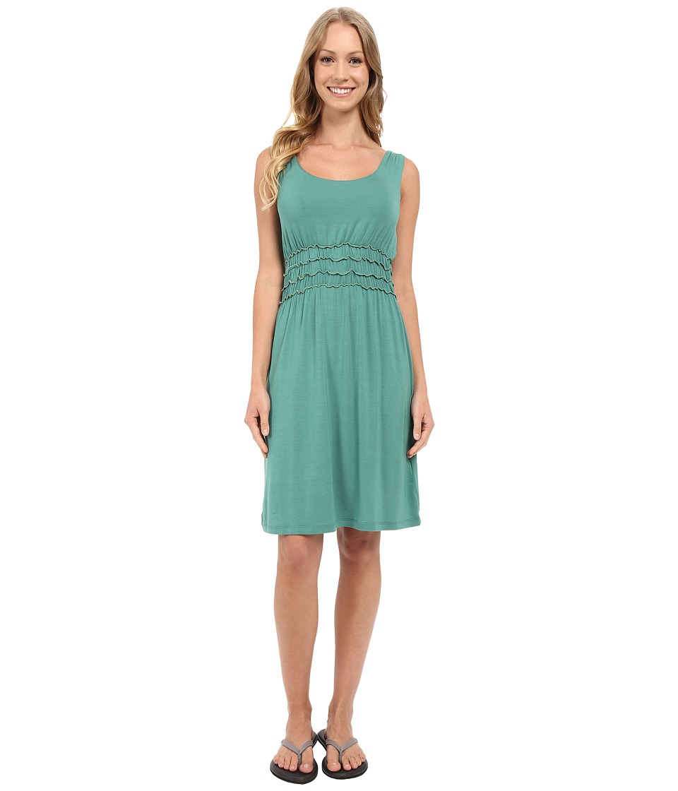 Aventura Clothing - Halle Dress (Bottle Green) Women's Dress
