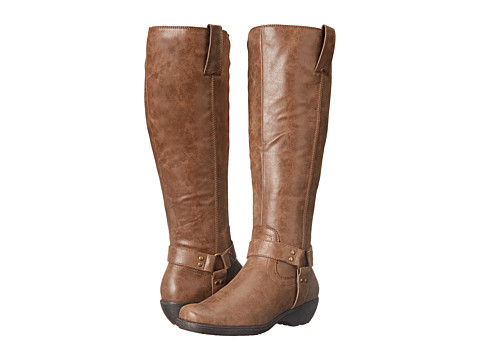 Aerosoles - In An Instint (Dark Tan Combo) Women's Zip Boots