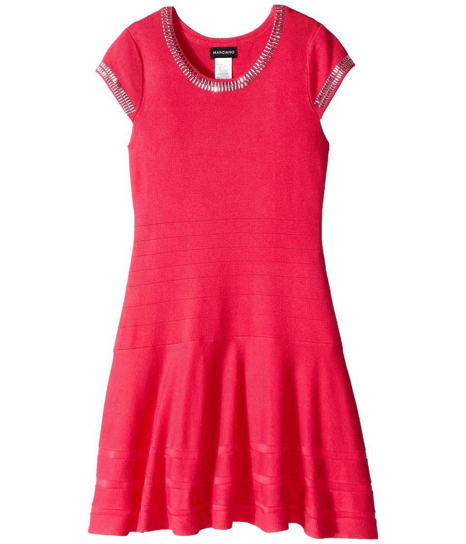 Marciano Kids - Portia Bandage Dress (Big Kids) (Pink) Girl's Dress