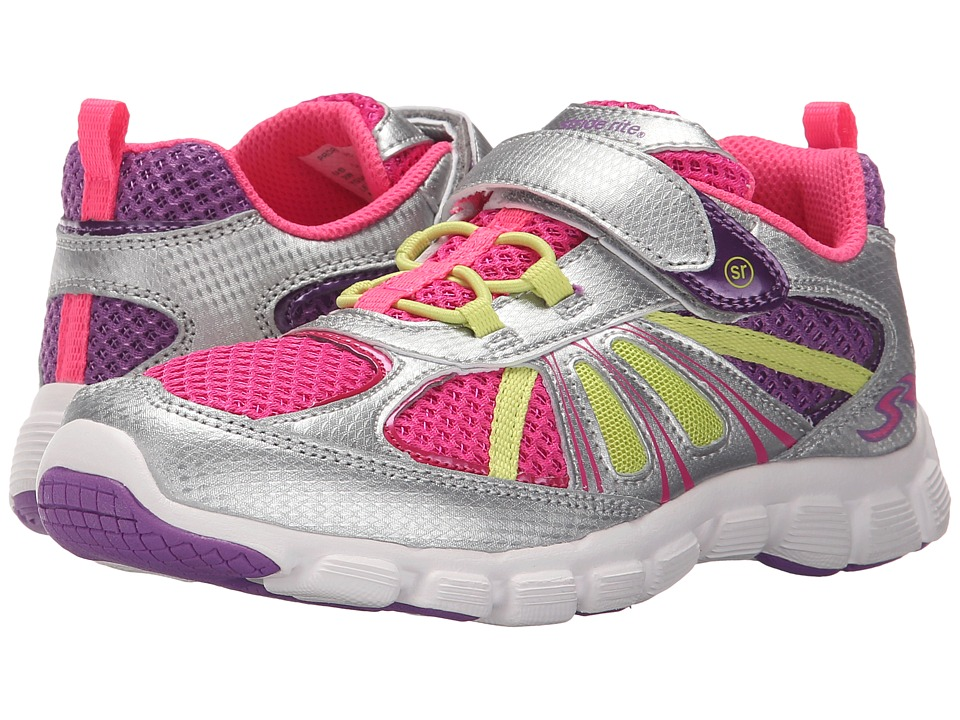 Stride Rite - Propel 2 A/C (Little Kid) (Silver) Girl's Shoes