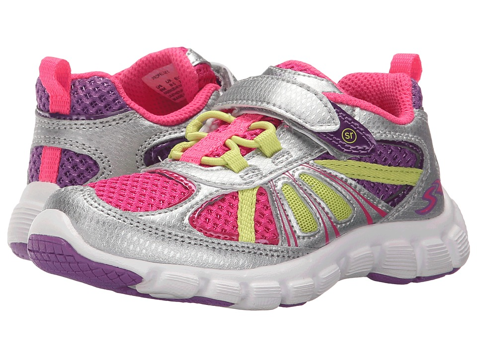 Stride Rite - Propel 2 A/C (Toddler/Little Kid) (Silver) Girl's Shoes