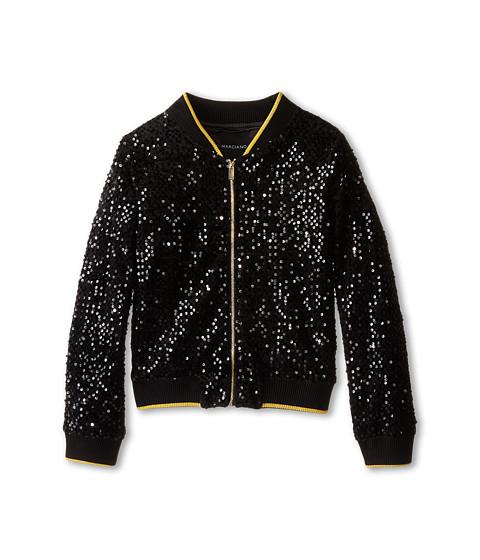 Marciano Kids - Sequin Jacket (Big Kids) (Black) Girl's Coat