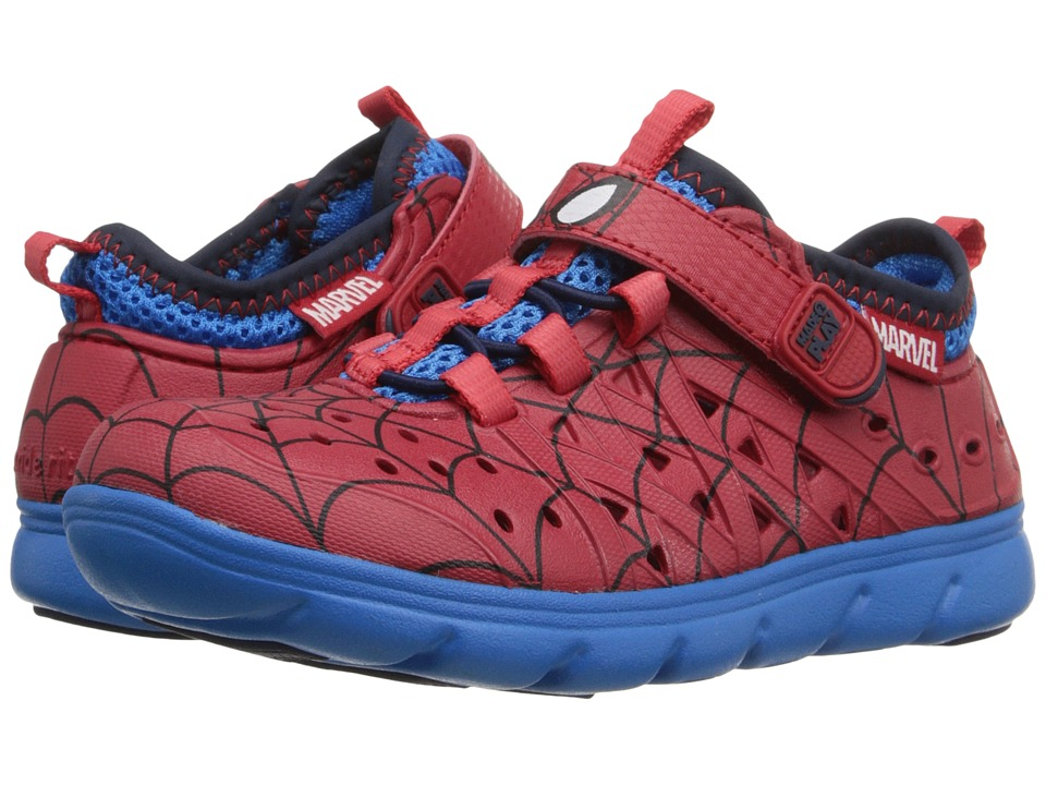 Stride Rite - Made 2 Play Spider-Man Phibian (Toddler/Little Kid) (Red) Boys Shoes